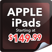 Apple iPads Starting at $149.99