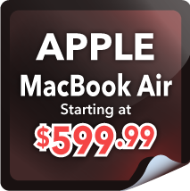 Apple MacBook Air Starting at $599.99