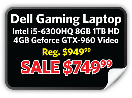 Dell Gaming Laptop $749